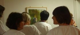 inauguration de l'exposition Musées à l'hôpital